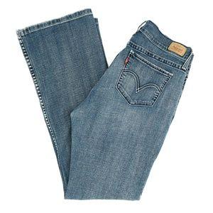 Levi's 518 Jeans Superlow Boot Cut Size 11 M 34X31